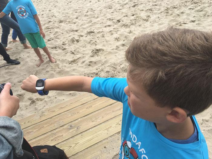 Vodafone Kinderbrigade Kigo-horloge