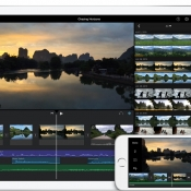 iMovie voor de iPhone en iPad.