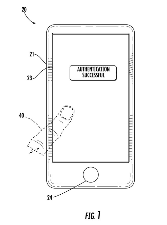 Patent: Touch ID