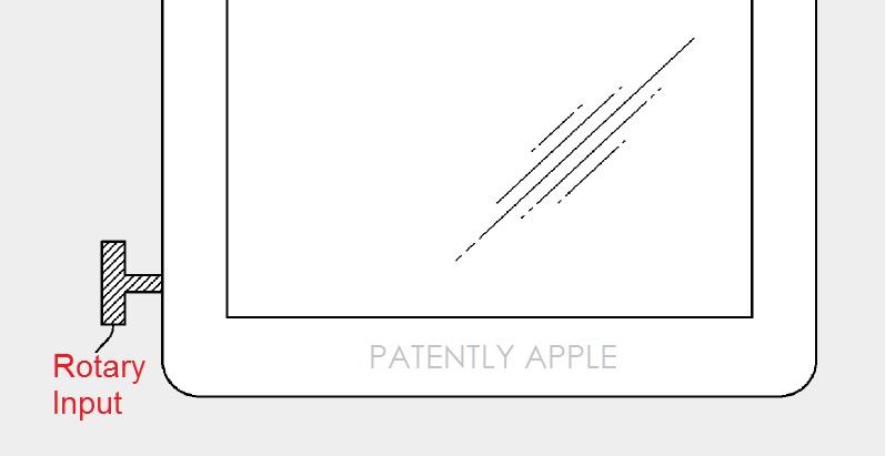 Digital Crown naar de iPad volgens patent.