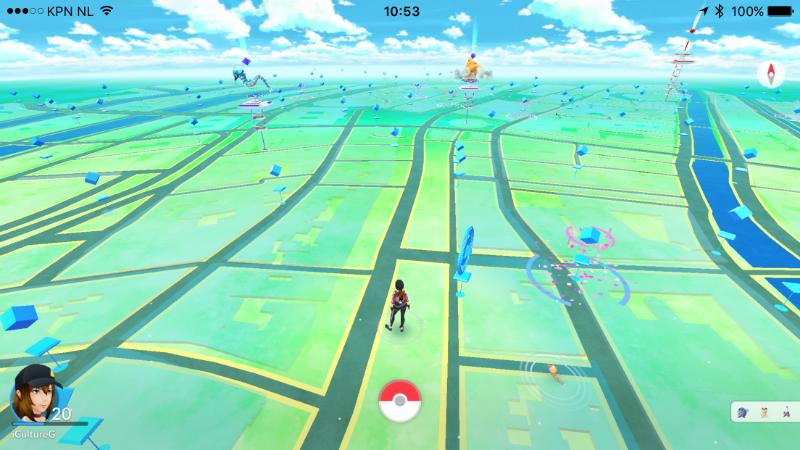 Pokémon Go Landscape