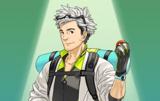 Pokemon Go professor Willow