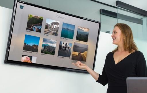 Adobe Photoshop Lightroom voor de Apple TV.