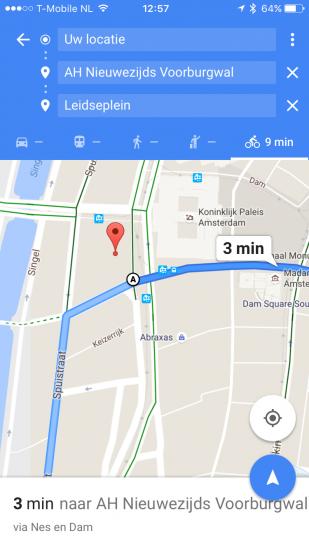 Google Maps - Meerdere bestemmingen toevoegen