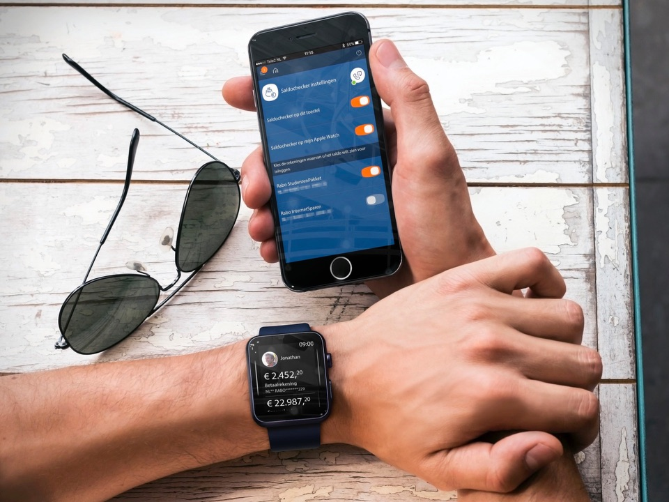 Rabo Bankieren met Apple Watch
