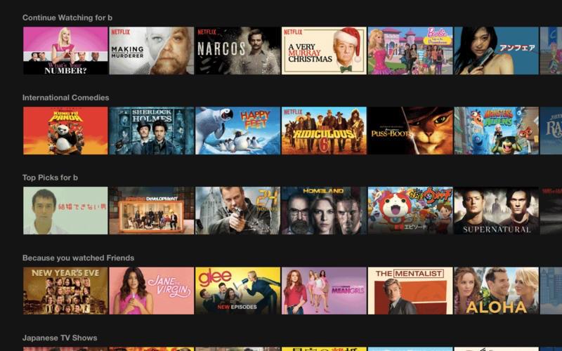 Streaming for Netflix op de Mac.