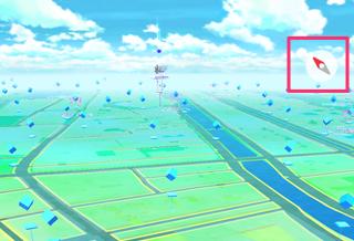 Pokemon Go richtingaanwijzer