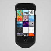 Mesuit batterijhoes - Android op iPhone