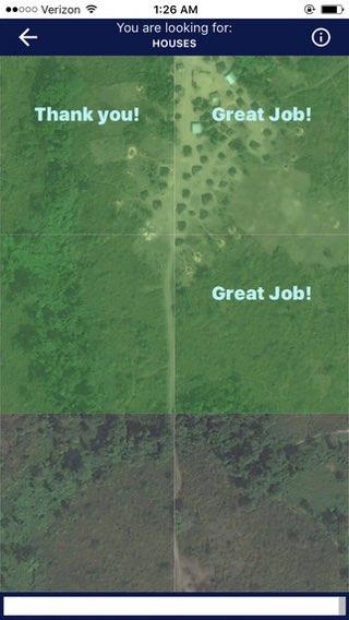 MapSwipe: huizen zoeken