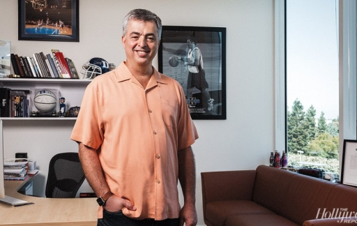 Eddy Cue in Hollywood.