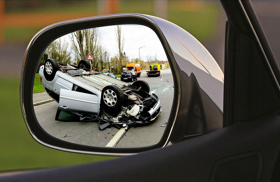 Ongeval veilig rijden