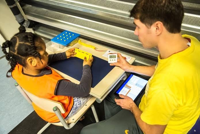FileMaker iPad-app - onderzoek motoriek Amsterdamse jeugd
