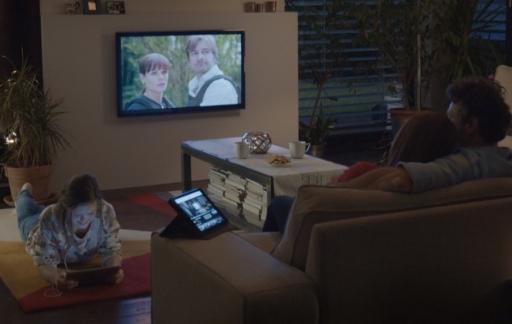 NLziet streamen naar je televisie.