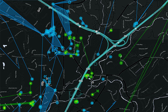 Ingress Live Web Map