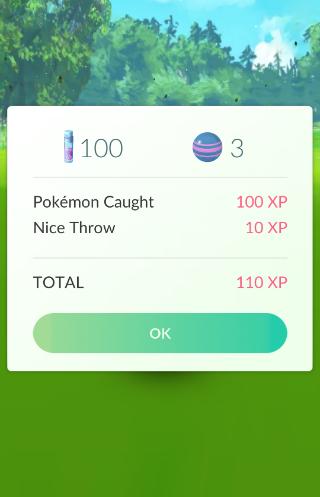 Pokemon go pokemon vangen gevangen