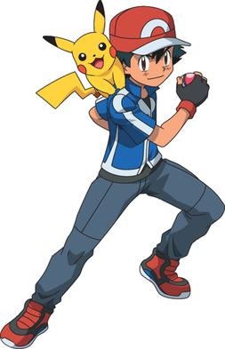 Ash Ketchum uit Pokémon