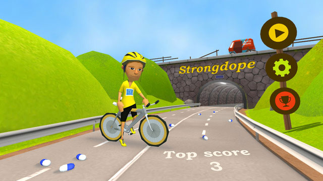 Strongdope iPhone-game