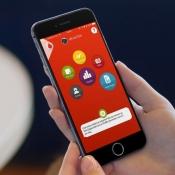 Vernieuwde My Vodafone-app op de iPhone.