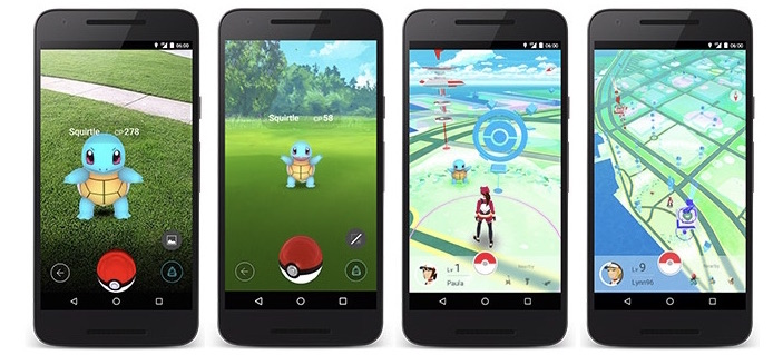 Pokemon GO iOS screenshots