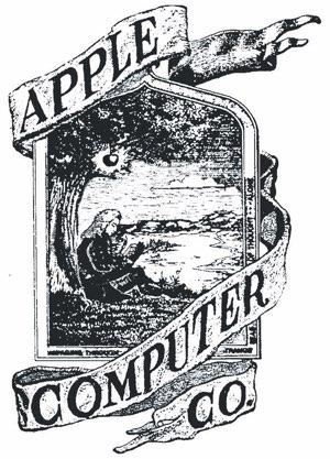Apple eerste logo