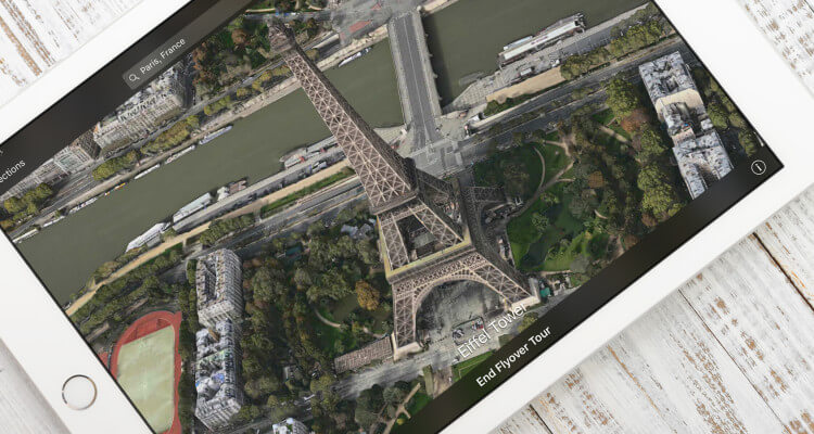 Flyover Tour boven Parijs
