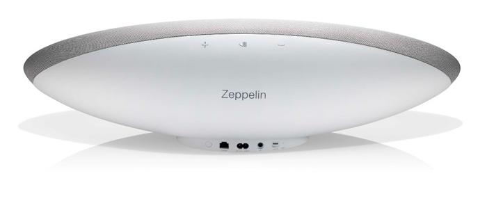 B&W Zeppelin wit, achterkant