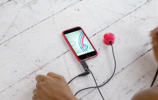 Mogees Play voor de iPhone en iPad.