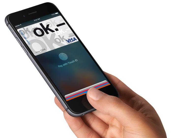 Apple Pay met VISA