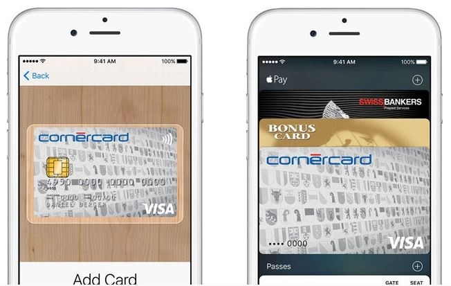 Apple Pay Zwitserland