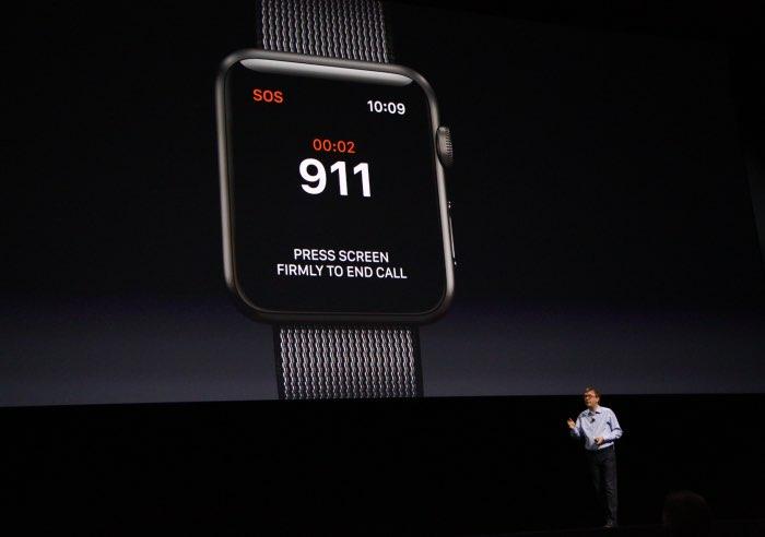 SOS-functie voor de Apple Watch