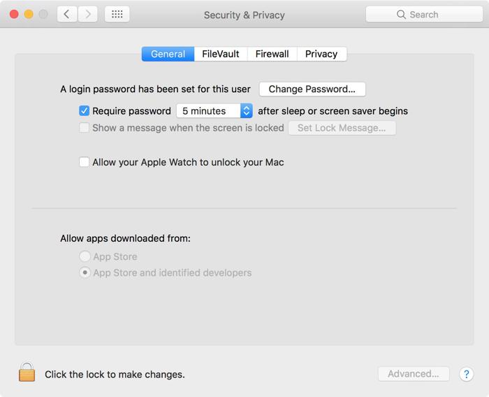 Auto Unlock in macOS Sierra