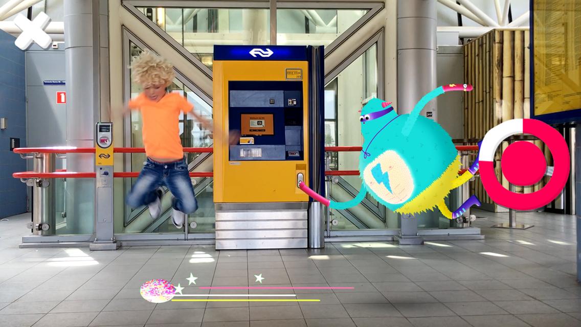 NS Kids-app: station