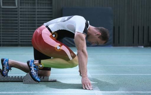 Notch: sprinter met sensoren