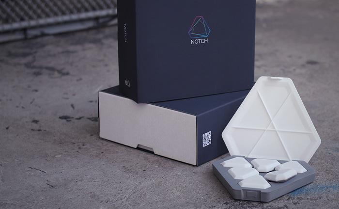 Notch-sensoren in de doos