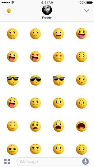 Apple Sticker Pack: Smileys