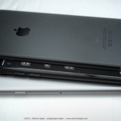 Dit concept laat zien hoe een donkere iPhone 7 eruit kan zien
