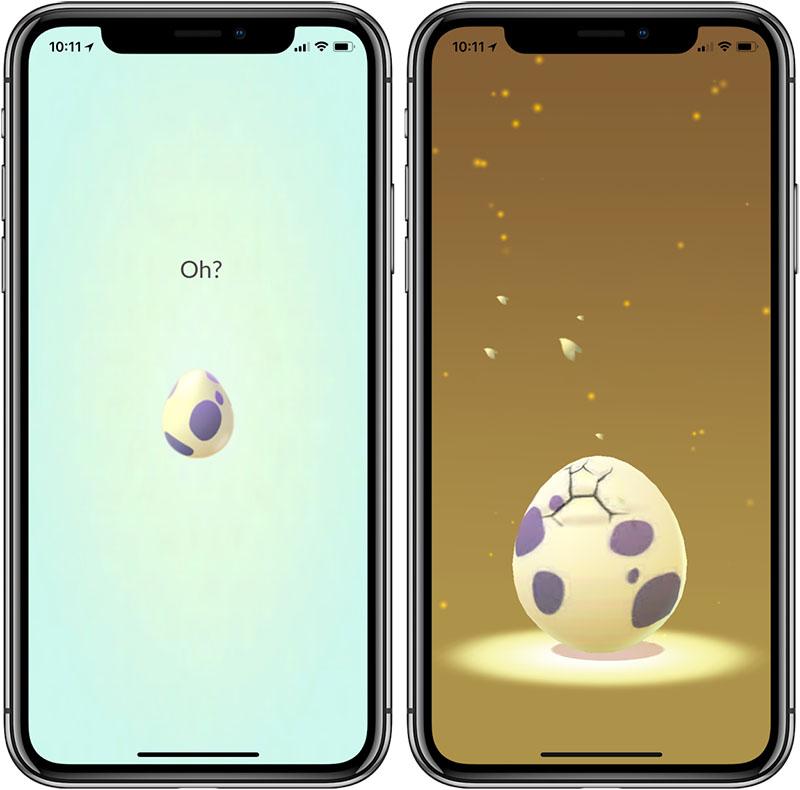 Pokémon Go eieren uitbroeden