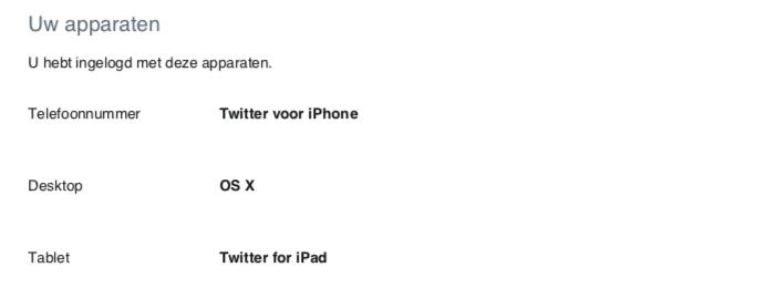 Twitter-apparaten