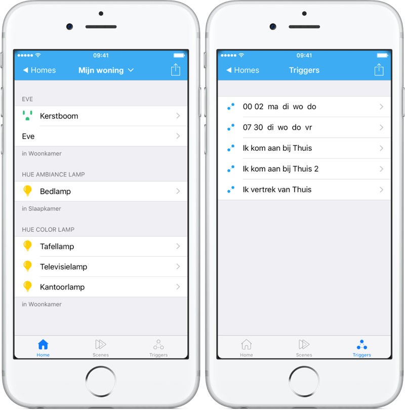 MyHome Plus is een aparte HomeKit-app.