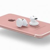 iPhone 7 met draadloze AirPods