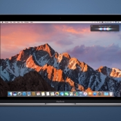 macOS Sierra op een MacBook