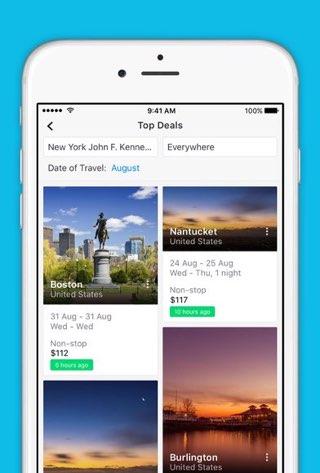 Skyscanner voor iPhone