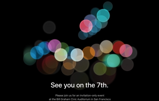 Apple Event september 2016