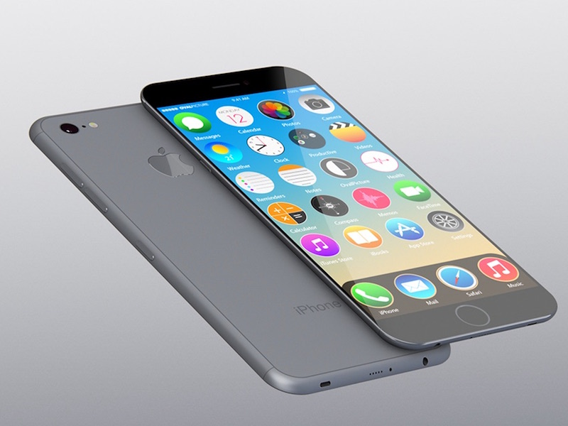 iPhone 7 concept afbeelding