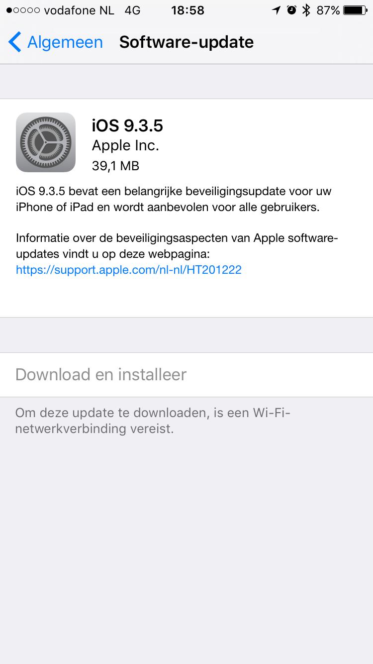 iOS 9.3.5.