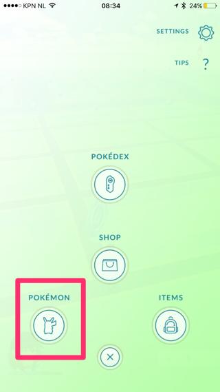 Pokémon Appraise-functie