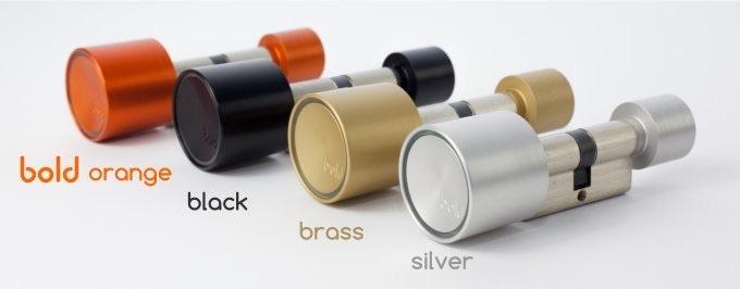 BOLD Smart Cylinder-deurslot in meerdere kleuren.
