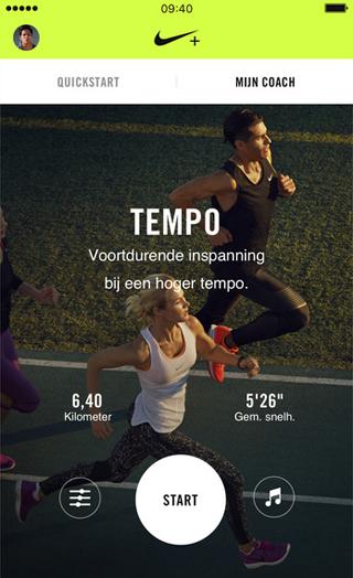 Nike Run Club-app: trainingsschema's die zich aanpassen