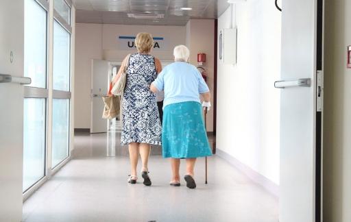 Ouderen in ziekenhuis