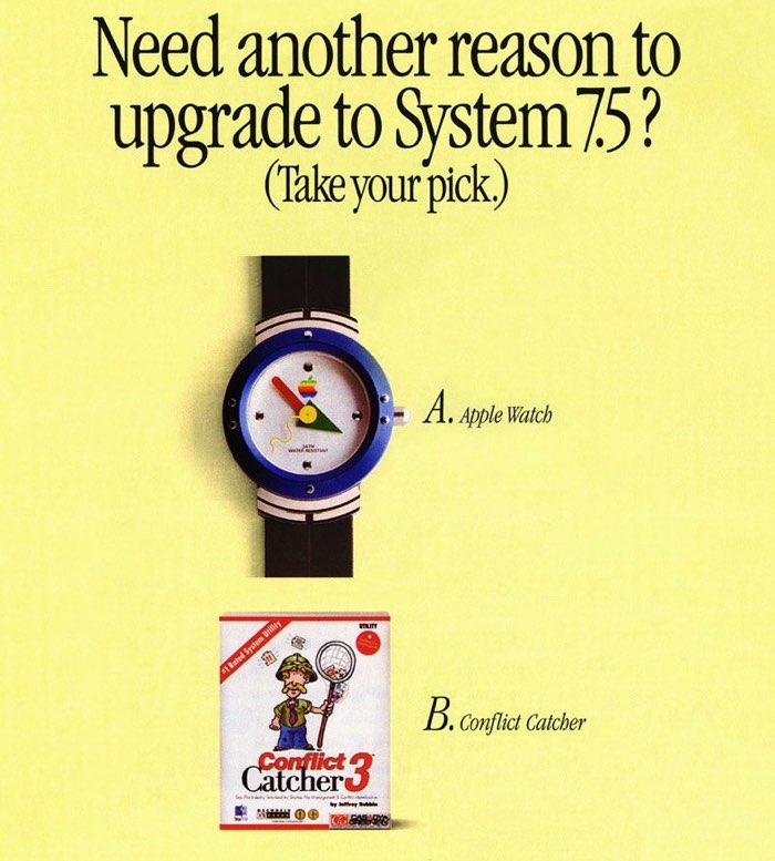 Mac Watch met upgrade-aanbod voor System 7.5